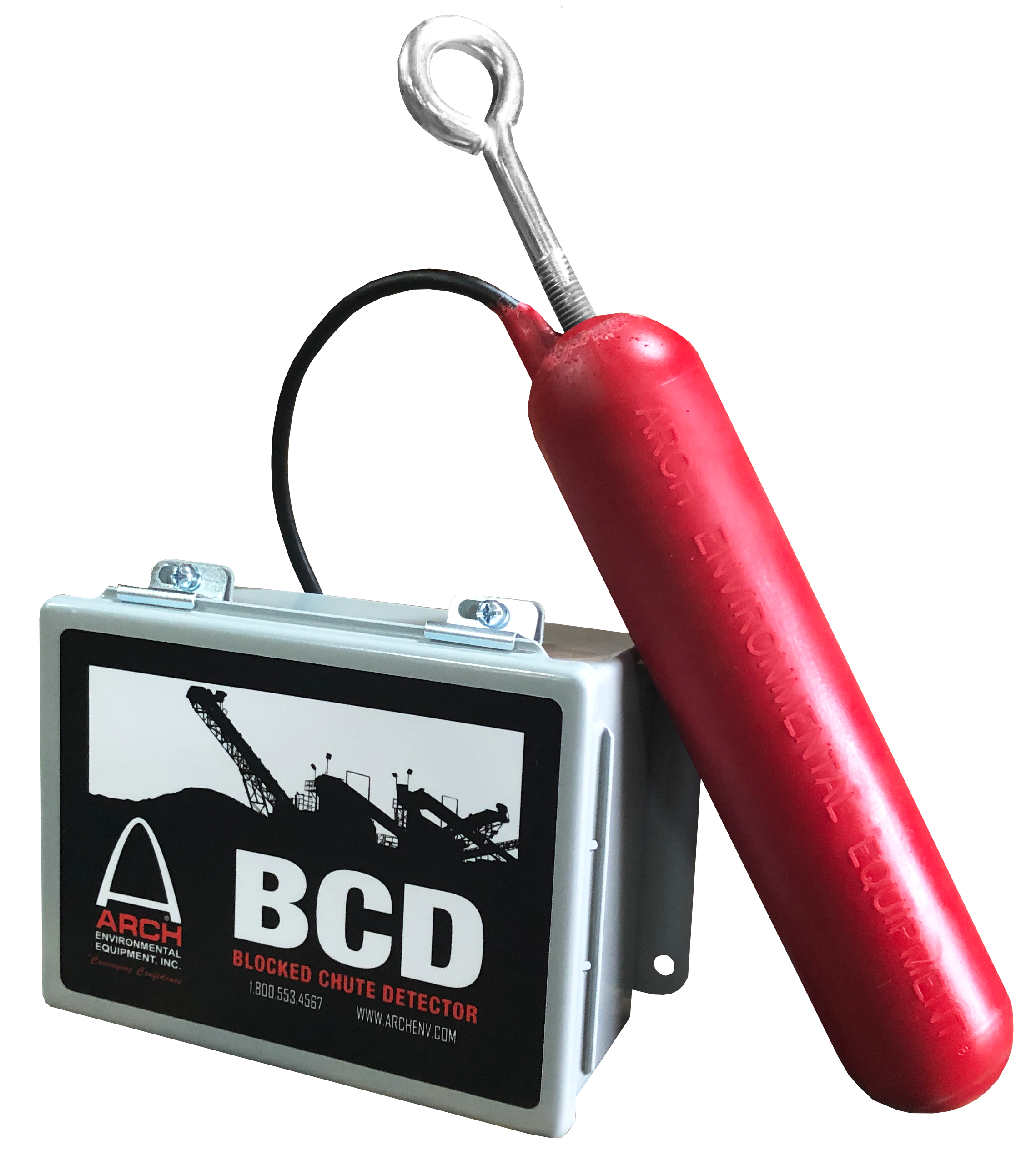 ARCH Environmental Equipment, Inc | Belt & Personal Protection | CTS 600 BCD Blocked Chute Detector